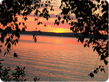 Torch Lake Michigan sunrise